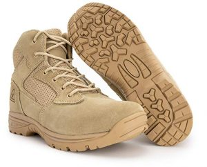 RYNO GEAR Tactical Combat Boots for Rucking with Coolmax Lining