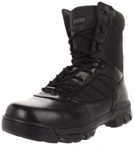 Bates Mens Tactical Side Zip Boots