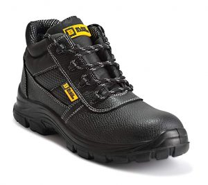 Black Hammer Men's Leather Safety Waterproof Boots