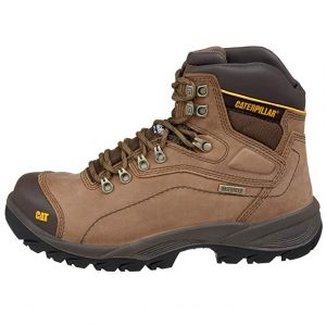 Caterpillar Men's Soft Toe Waterproof Work Boot