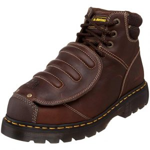 Dr. Martens Men's Ironbridge MG ST Steel-Toe Met Guard Boot for Working with Asphalt