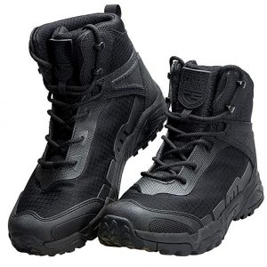 FREE SOLDIER Mens Tactical Boots 6 Inches Lightweight Combat Boots