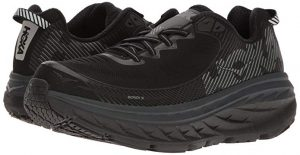 Hoka One One Mens Bondi 5 Running Shoe for Hallux Rigidus