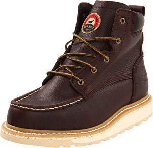 Irish Setter Work Boots made it to our list of the best for asphalt paving.