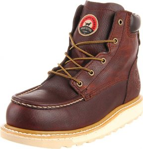 Irish Setter Men's Aluminum Toe Work Boot for Foot Problems