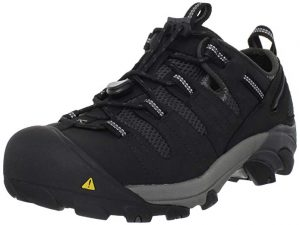 KEEN Utility Atlanta Steel Toe Work Shoe for Warehouses