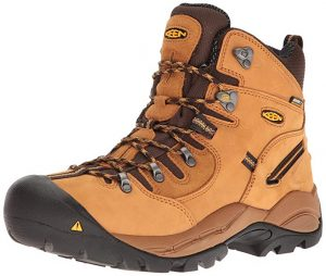 KEEN Utility Men's Pittsburgh Steel Toe Work Boot for Plantar Fasciitis