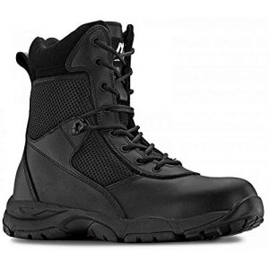 Maelstrom Mens LANDSHIP 8 Inch Military Tactical Duty Work Boot with Zipper