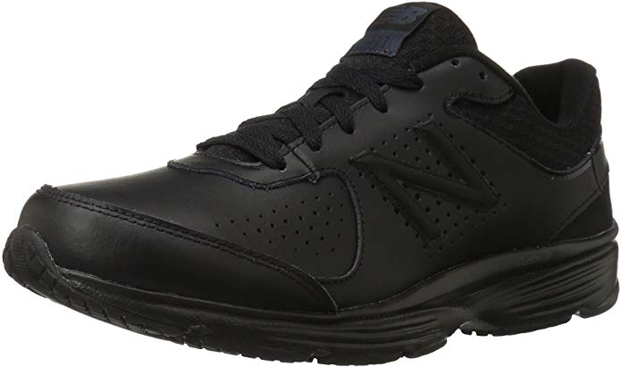 New Balance Men's MW411v2 Walking Shoe for Standing All Day during working in retail.