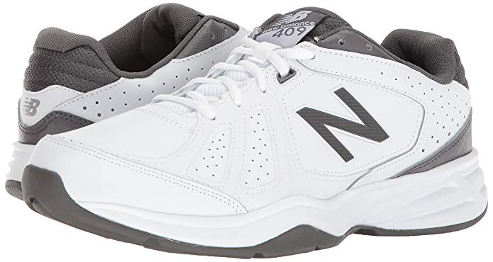 New Balance Men's mx409v3 Shoe is an awesome choice for flat feet.
