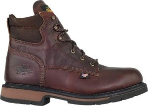 Thorogood Men's American Heritage Classic Safety Toe Boot for Plantar Fasciitis