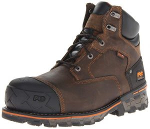Timberland PRO Men's Boondock Waterproof Non-Insulated Work Boot for Foot Issues
