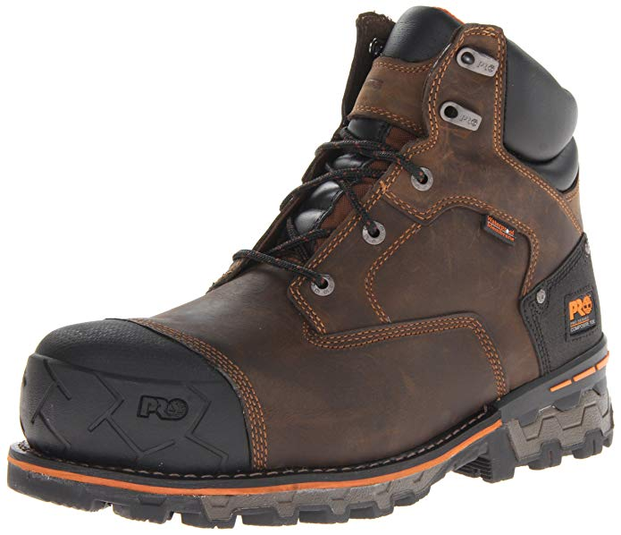 Timberland PRO Men's Boondock Waterproof Non-Insulated Work Boot for your comfort and safety.