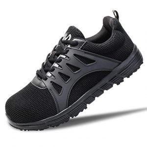 Walkchic Lightweight Breathable Steel Toe Shoes