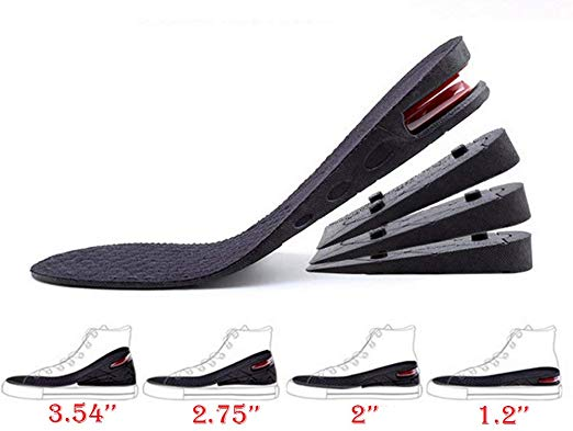 4-Layer Orthotic Heel Shoe Lift kit with Air Cushion.