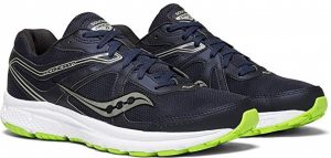 Saucony Men's Cohesion 11 Running Shoes for Peroneal Tendonitis