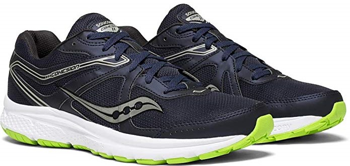 Saucony Men's Cohesion 11 Running Shoes.