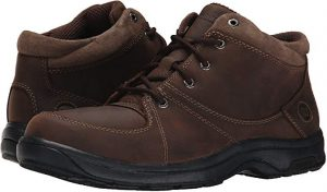 Feel free from tarsal tunnel symptoms with Dunham Men's Addison Mid-Cut Waterproof Boot.