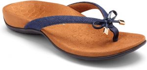 Great way to relieve pain from tarsal tunnel is to wear Vionic Women's Rest BellaII Toepost Sandals.