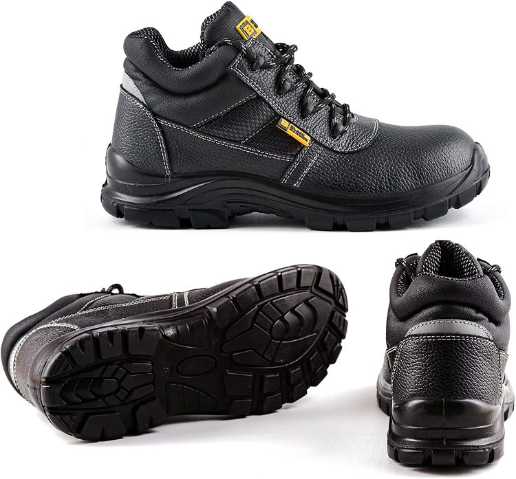 Black Hammer boots are the most affordable in our list of the best work boots for landscaping.