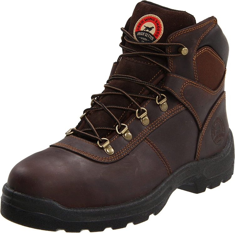 Steel toe, ASTM safety standards and outstanding quality put Irish Setter boots on the second place.
