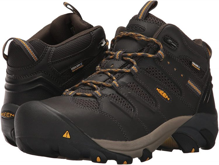 KEEN Utility Waterproof Work Boots took the first place in our rating.