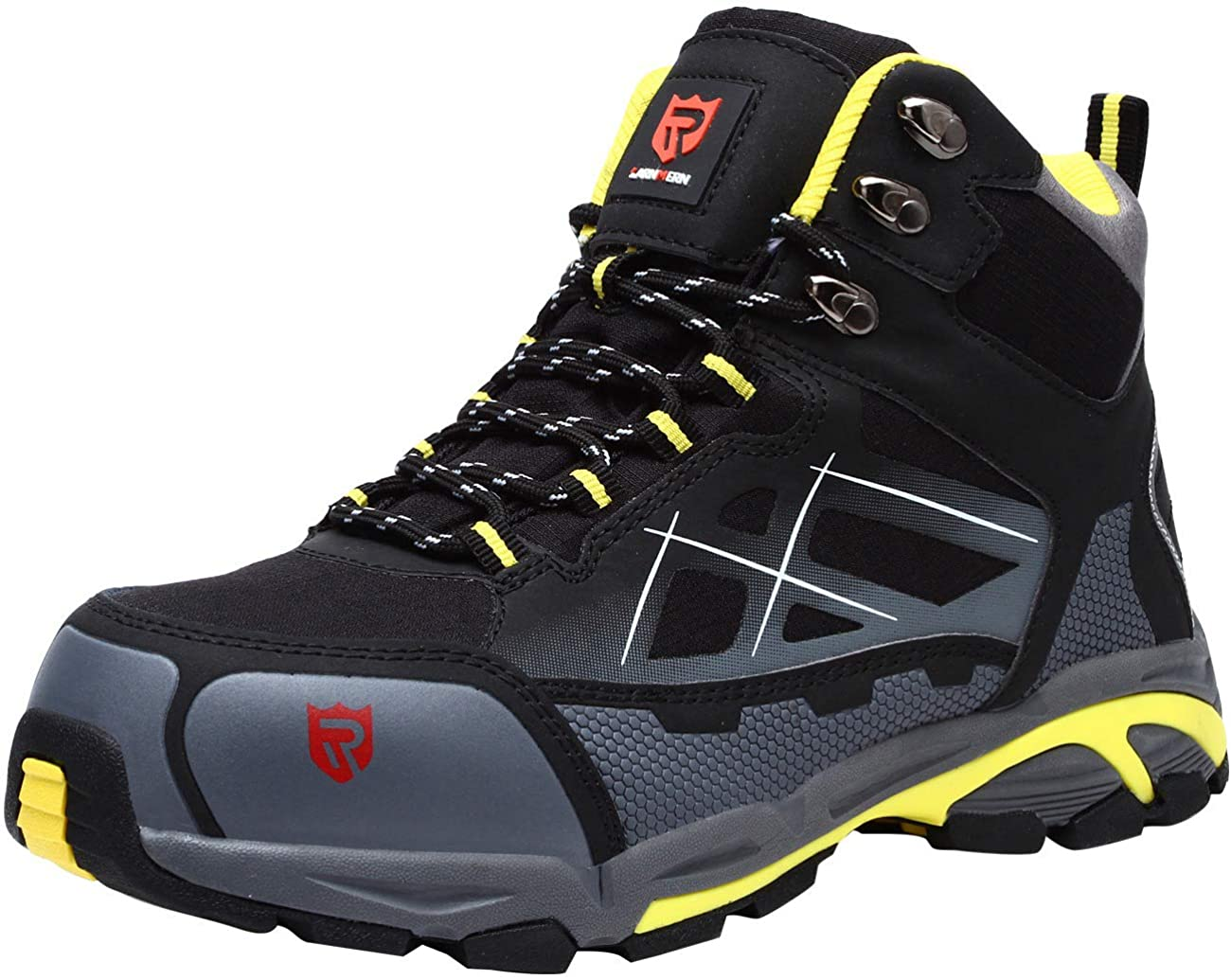 LARNMERN Steel Toe Safety Work Boots for Electricians is the most affordable choice.
