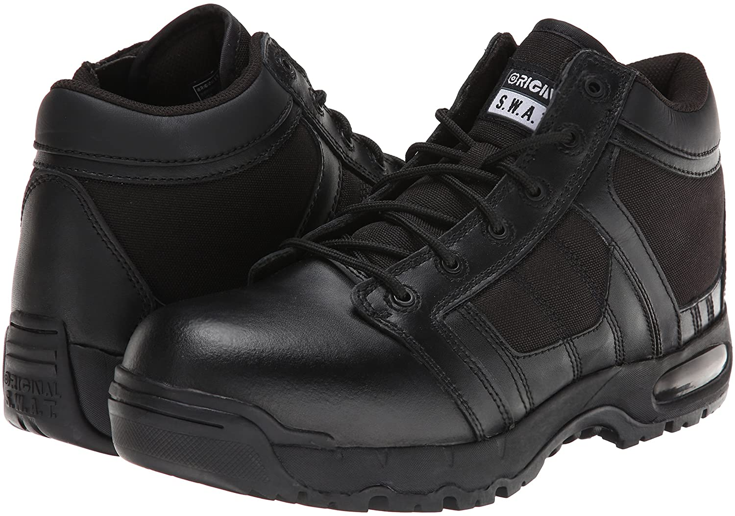 Original S.W.A.T. Men's Metro Work Boots for EMT workers have the best value.