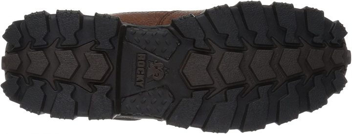 Outsole of Rocky Men's Rkk0190 Construction Boots for Electricians.