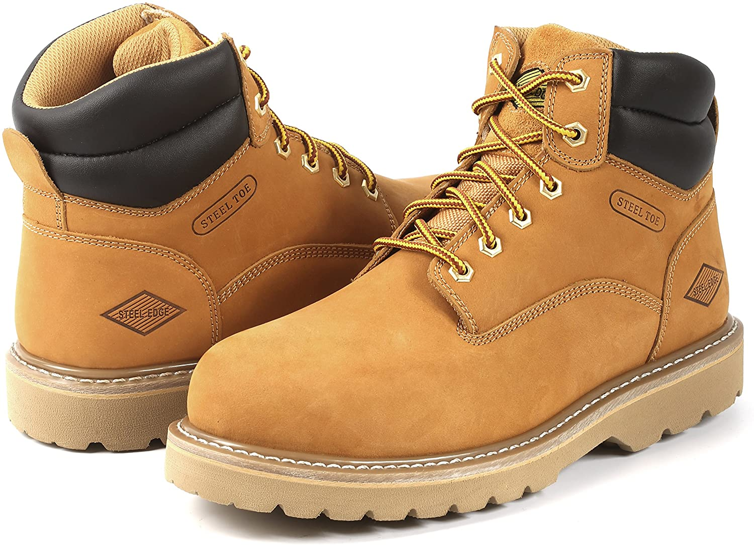 Affordable and safe, Steel Toe, Lightweight and Waterproof Electrician Workboots for Men will be a good choice.