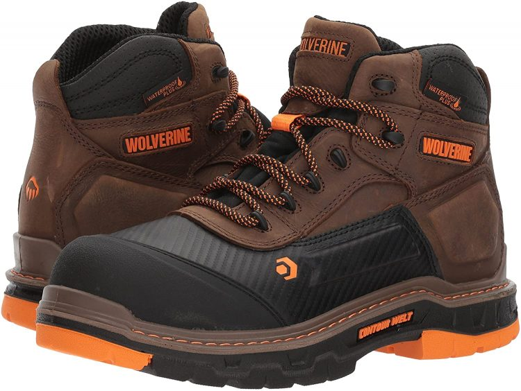 Safe, built with a quality on the mind these boots by Wolverine, will be an excellent choice for a landscaping job.