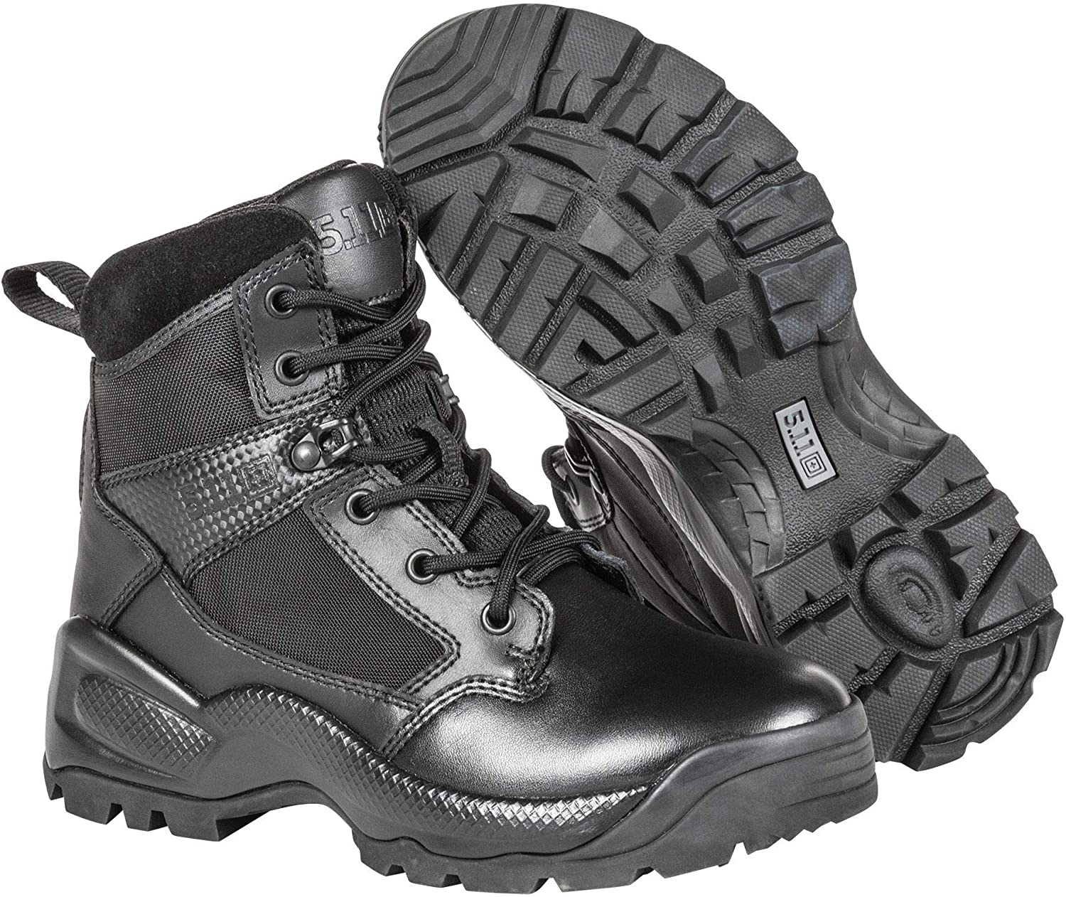 5.11 Women's ATAC 2.0 Tactical Side Zip Military Combat Boots for Paramedics.