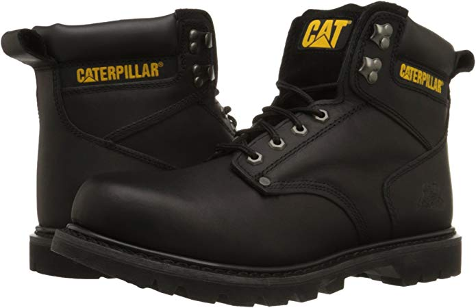 Caterpillar Men's Plain Soft-Toe Work Boot