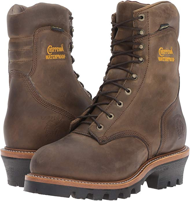 Americans should be proud of Chippewa Steel-Toe Logger Boots.