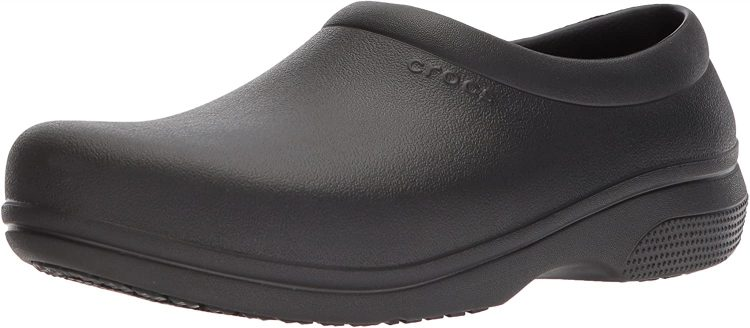 Crocs Unisex-Adult On The Clock Clog | Slip Resistant Work Shoes Medical Professional
