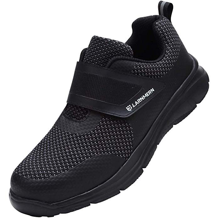 LARNMERN Steel Toe Safety Sneakers for Warehouse