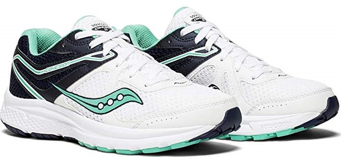 Looking for the best value? Saucony Women's Cohesion 11 is your choice for peroneal tendonitis.