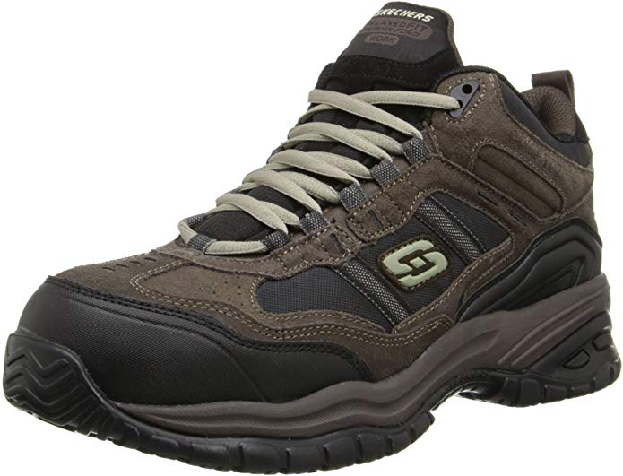 Skechers Men's Soft Stride Canopy Slip Resistant Roofing Boot