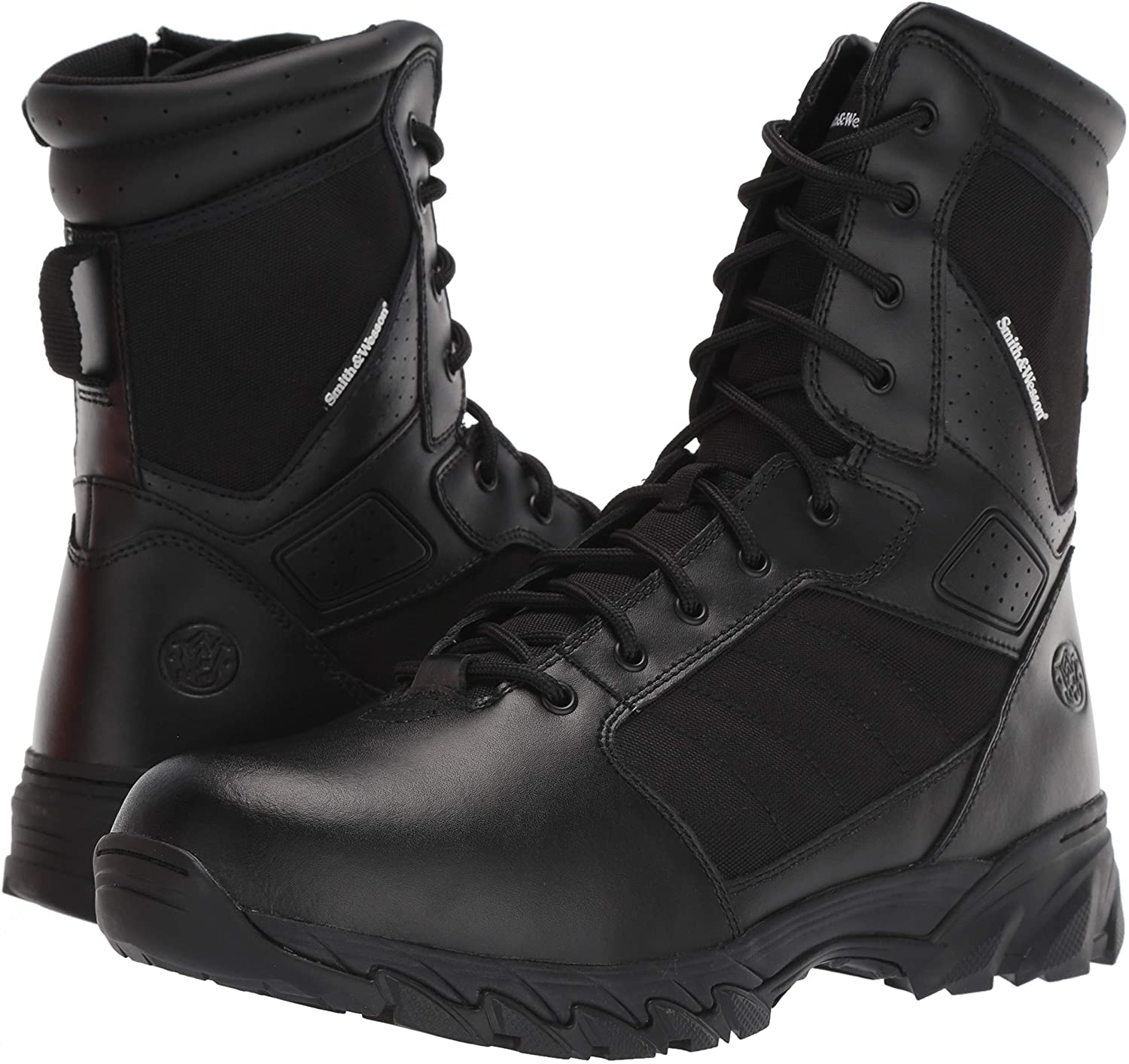 Smith & Wesson Men's Breach 2.0 Tactical Size Zip Boots are affordable, durable boots for EMT workers.