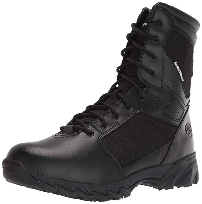 Smith & Wesson Mens Breach 2.0 Tactical Zip Boots