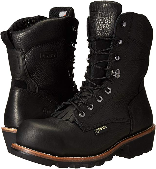 Wolverine Logger Work Boot will protect your feet during hard work.