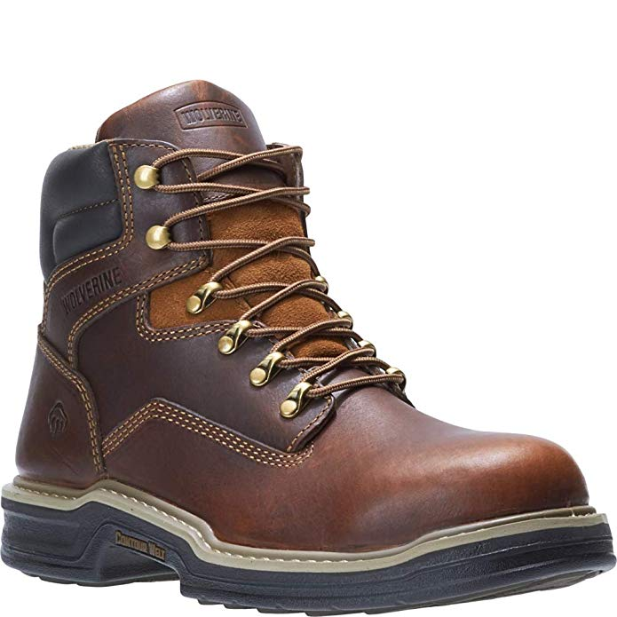 Wolverine Men's Steel-Toe Work Boots provide the best quality/price ratio.