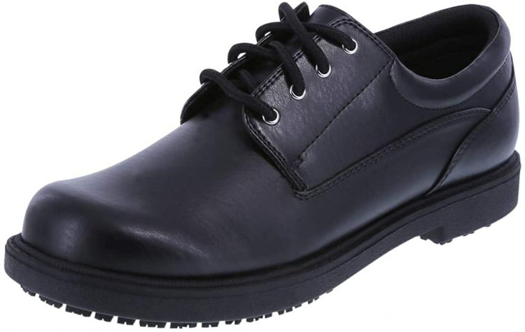 safeTstep Slip Resistant Womens Deidre Oxford